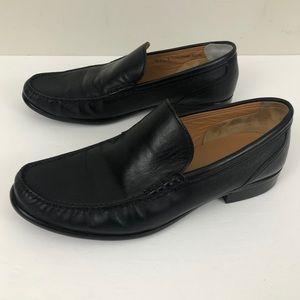 Bally Colmar Black Leather Slip On Loafer